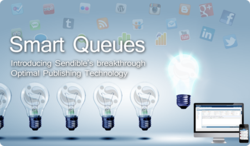 Sendible's Smart Queues with Optimal Publishing Technology